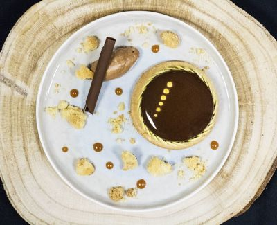 Photo menu Dessert : tarte au chocolat