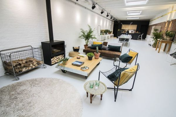 Picture of an event venue rental in Elsene, Brussels, Inside Gustave's loft 5615