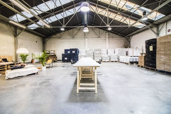 Picture of an event venue rental in Ixelles, Brussels, Inside François-Xavier & Roy's warehouse 6233