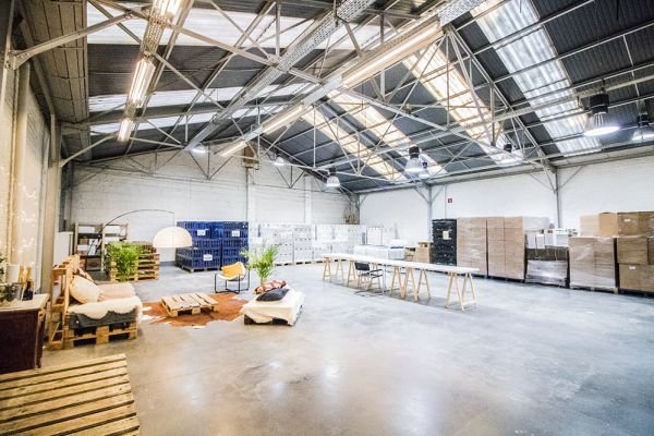 Picture of an event venue rental in Elsene, Brussels, Inside François-Xavier & Roy's warehouse 6234
