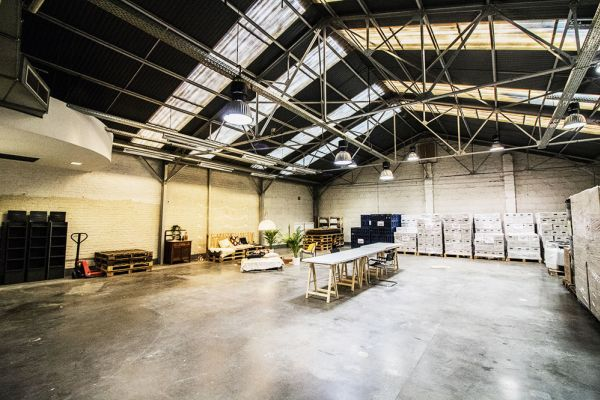 Picture of an event venue rental in Ixelles, Brussels, Inside François-Xavier & Roy's warehouse 6236
