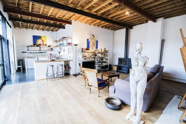 Picture of an event venue rental in Etterbeek, Brussels, Inside Sylvie's workshop 6329