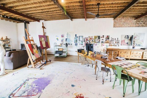 Picture of an event venue rental in Etterbeek, Brussels, Inside Sylvie's workshop 6334