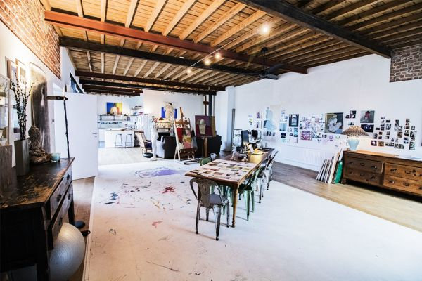 Picture of an event venue rental in Etterbeek, Brussels, Inside Sylvie's workshop 6335