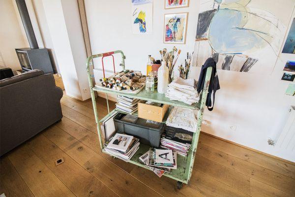 Picture of an event venue rental in Etterbeek, Brussels, Inside Sylvie's workshop 6339