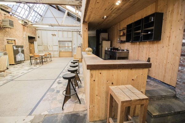 Picture of an event venue rental in Bossière, Namur, Inside Fred's workshop 6455