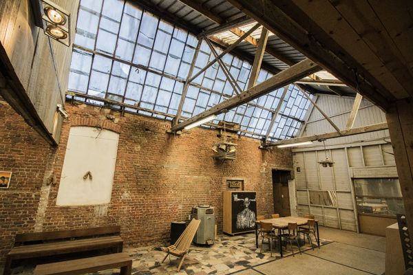 Picture of an event venue rental in Bossière, Namur, Inside Fred's workshop 6457