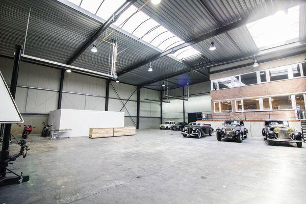 Feestzaal verhuren in Braine-le-Château, Waals-Brabant, In de opslagruimte en de studio van Franck 6526