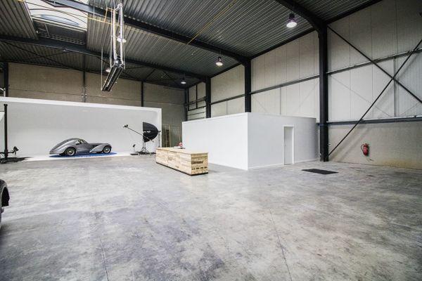 Photo d'une salle à louer à Braine-le-Château, Brabant Wallon, Dans l'entrepôt & le studio de Franck 6533