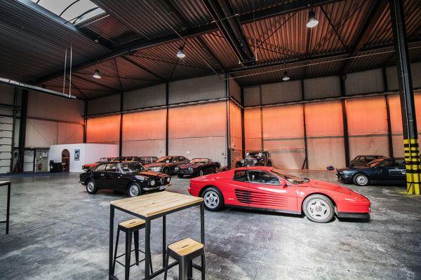 Photo d'une salle à louer à Braine-le-Château, Brabant Wallon, Dans l'entrepôt & le studio de Franck 6560