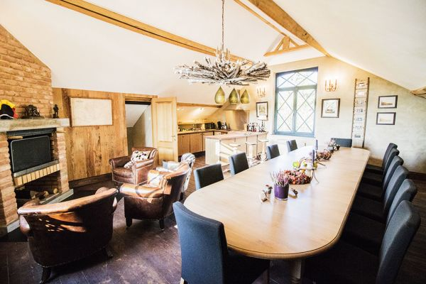 Picture of an event venue rental in Mons, Hainaut, Inside Marie's hunting lodge 7193