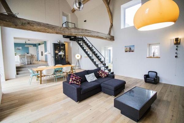 Feestzaal verhuren in Aineffe, Luik, In het huis van Damien & Christelle 7401