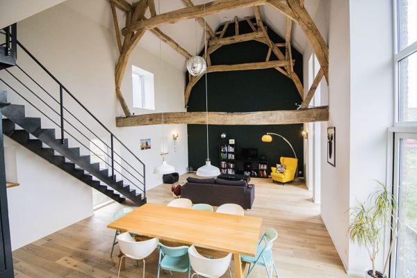 Feestzaal verhuren in Aineffe, Luik, In het huis van Damien & Christelle 7405