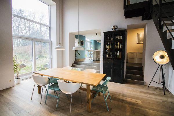 Feestzaal verhuren in Aineffe, Luik, In het huis van Damien & Christelle 7406
