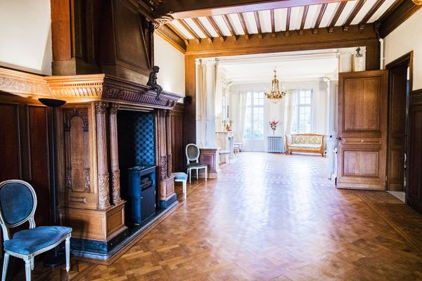 Picture of an event venue rental in Uccle, Brussels, Inside Marie's castle 7530