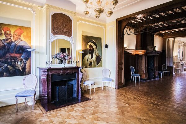 Picture of an event venue rental in Uccle, Brussels, Inside Marie's castle 7533