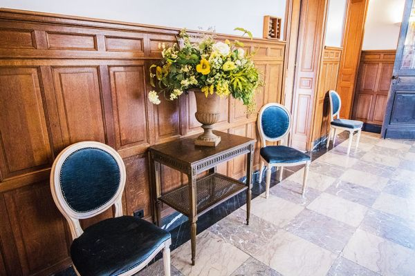 Picture of an event venue rental in Uccle, Brussels, Inside Marie's castle 7542