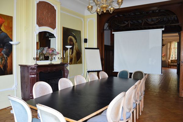 Picture of an event venue rental in Uccle, Brussels, Inside Marie's castle (I) 13285