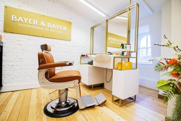 Picture of an event venue rental in Elsene, Brussels, Inside the Maison Degand's Barber Shop 7804