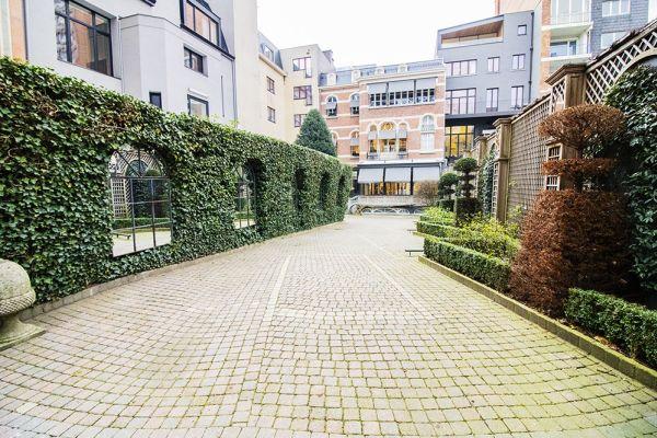 Feestzaal verhuren in Elsene, Brussel, In de buitenkant van het Maison Degand 7899