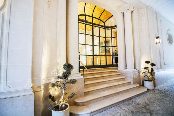 Picture of an event venue rental in Elsene, Brussels, Inside the courtyard of the Maison Degand 7904