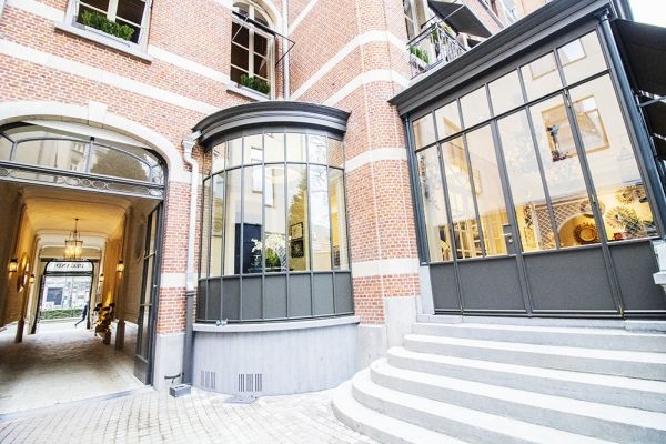 Picture of an event venue rental in Elsene, Brussels, Inside the courtyard of the Maison Degand 7909