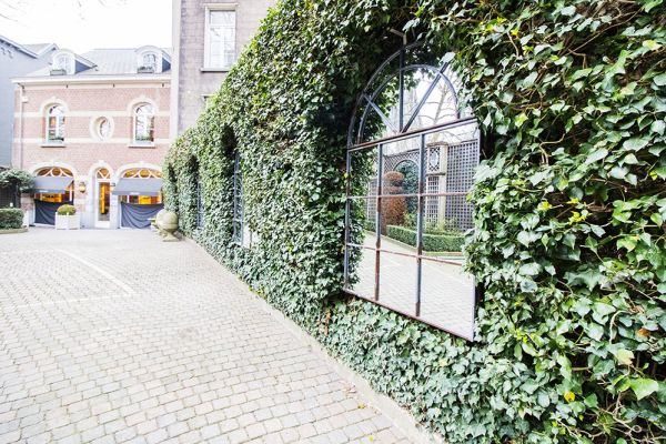 Picture of an event venue rental in Elsene, Brussels, Inside the courtyard of the Maison Degand 7912