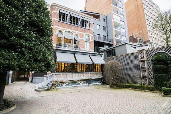 Feestzaal verhuren in Elsene, Brussel, In de buitenkant van het Maison Degand 7913