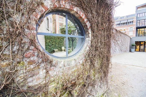 Feestzaal verhuren in Elsene, Brussel, In de buitenkant van het Maison Degand 7917