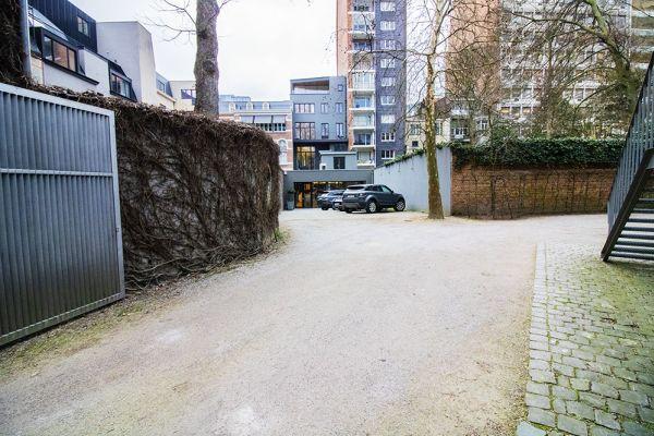 Feestzaal verhuren in Elsene, Brussel, In de buitenkant van het Maison Degand 7918
