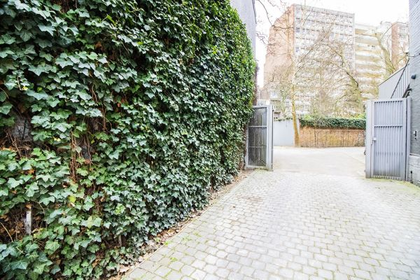 Picture of an event venue rental in Elsene, Brussels, Inside the courtyard of the Maison Degand 7929