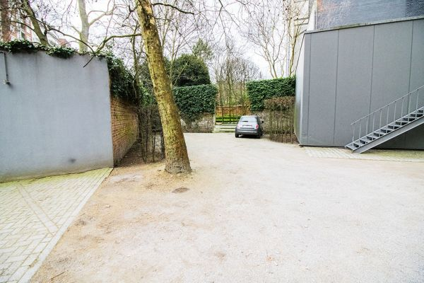 Picture of an event venue rental in Elsene, Brussels, Inside the courtyard of the Maison Degand 7930