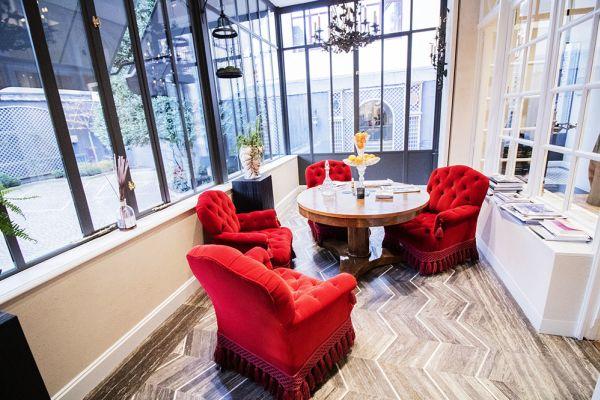 Photo d'une salle à louer à Elsene, Bruxelles, Dans la Maison Degand 8011