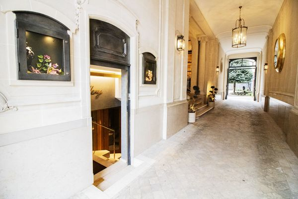 Photo d'une salle à louer à Elsene, Bruxelles, Dans la Maison Degand 8101