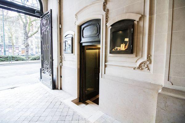 Photo d'une salle à louer à Elsene, Bruxelles, Dans la Maison Degand 8103