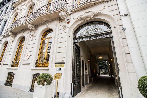 Photo d'une salle à louer à Elsene, Bruxelles, Dans la Maison Degand 8110