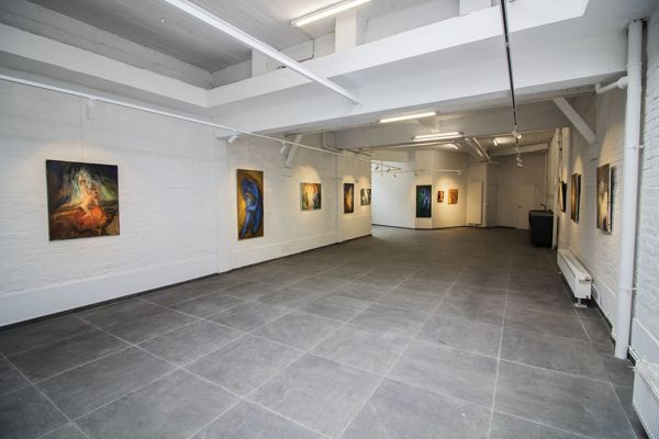 Picture of an event venue rental in Watermael-Boitsfort, Brussels, Inside Damien's gallery 8245