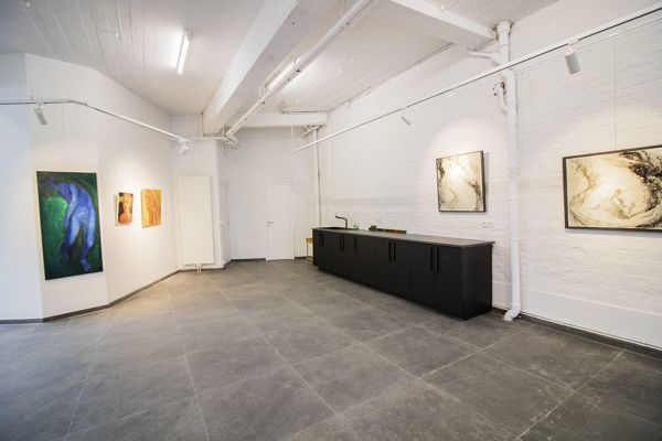 Picture of an event venue rental in Watermael-Boitsfort, Brussels, Inside Damien's gallery 8249