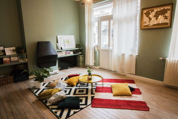 Picture of an event venue rental in Forest, Brussels, Inside Marie-Laure's apartment 8328