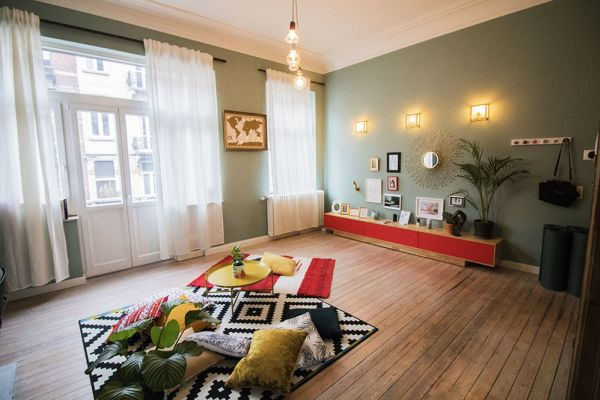 Picture of an event venue rental in Forest, Brussels, Inside Marie-Laure's apartment 8336