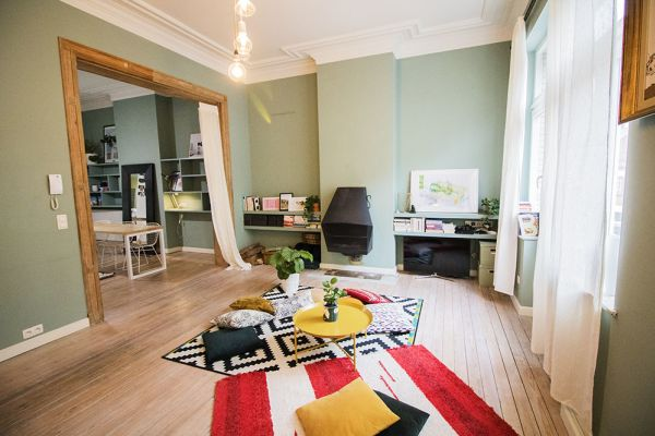 Picture of an event venue rental in Forest, Brussels, Inside Marie-Laure's apartment 8340