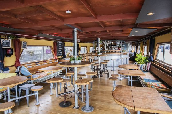 Picture of an event venue rental in Gand, East Flanders, Inside Jo & Ingrid's houseboat 8599