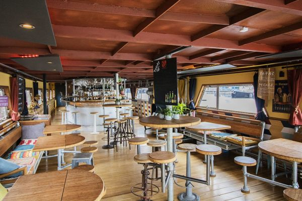 Picture of an event venue rental in Gand, East Flanders, Inside Jo & Ingrid's houseboat 8601