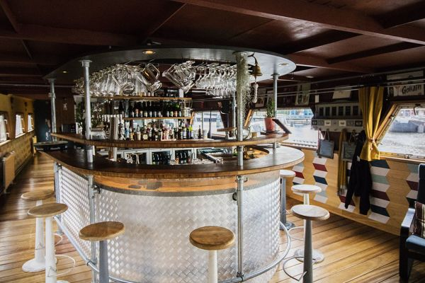 Picture of an event venue rental in Gand, East Flanders, Inside Jo & Ingrid's houseboat 8602