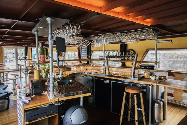 Picture of an event venue rental in Gand, East Flanders, Inside Jo & Ingrid's houseboat 8603