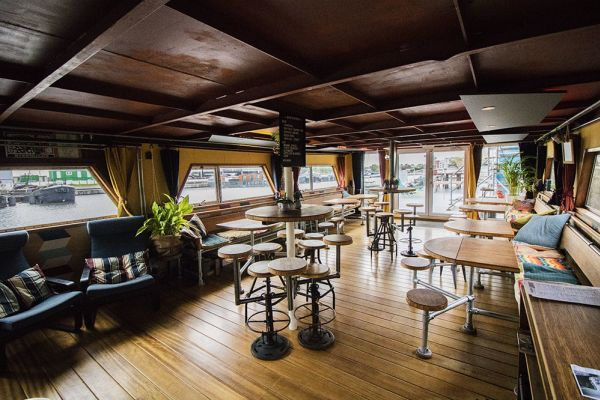 Picture of an event venue rental in Gand, East Flanders, Inside Jo & Ingrid's houseboat 8609