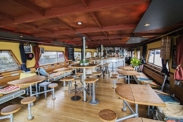 Picture of an event venue rental in Gand, East Flanders, Inside Jo & Ingrid's houseboat 8610