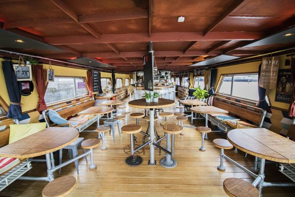 Picture of an event venue rental in Gand, East Flanders, Inside Jo & Ingrid's houseboat 8611