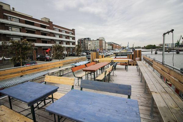 Picture of an event venue rental in Gand, East Flanders, Inside Jo & Ingrid's houseboat 8616