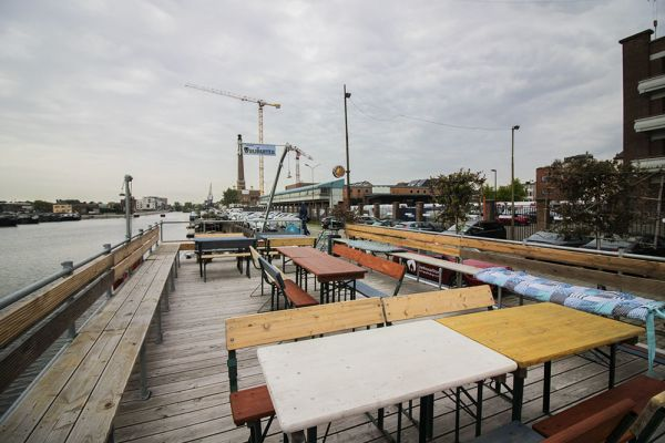 Picture of an event venue rental in Gand, East Flanders, Inside Jo & Ingrid's houseboat 8618